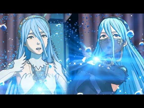 Fire Emblem Fates - Azura's Dance Cutscenes - Real HD@60FPS (English+Japanese)