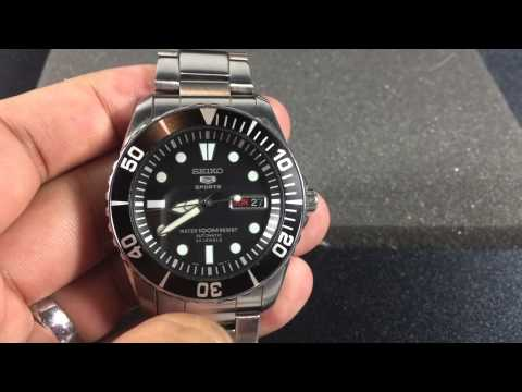 Seiko SNZF17 Sea Urchin Overview - Awesome Value!