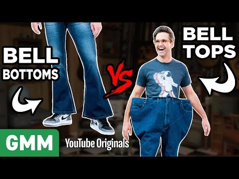 Reverse Bell Bottoms | FLIP IT CHALLENGE
