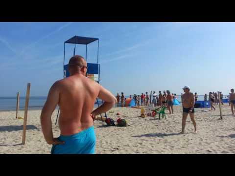 Świnoujście Tragedia na plaży! Utonął mężczyzna - zobacz film HD