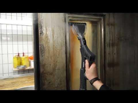 Cleaning Commercial Oven Glass Door
