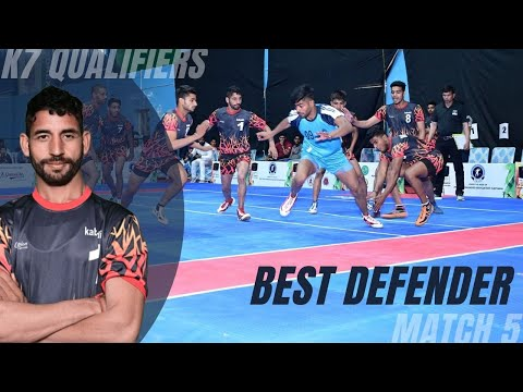 Baljeet: Left Cover defender scored 6 tackle points to become best defender of the match