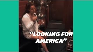 """Lana Del Rey répond aux fusillades avec la chanson """"Looking For America"""""""