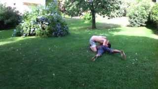 Grappling-Rob (me) VS Hugo round 1
