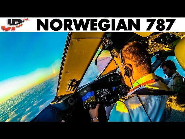 Piloting BOEING 787 into Stockholm | 3 Cockpit Views