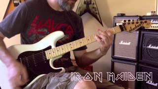 Iron Maiden - Alexander The Great Guitar Cover