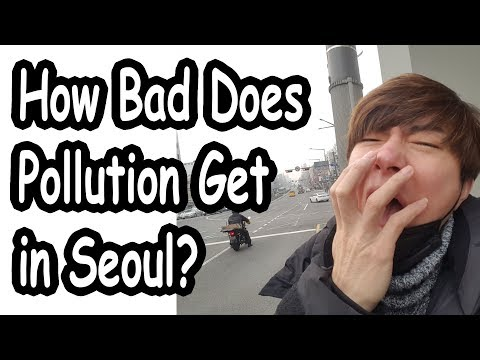 How Bad Can Pollution Get In Seoul 서울 오염이 얼마나 심해?