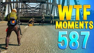 PUBG WTF Funny Daily Moments Highlights Ep 587
