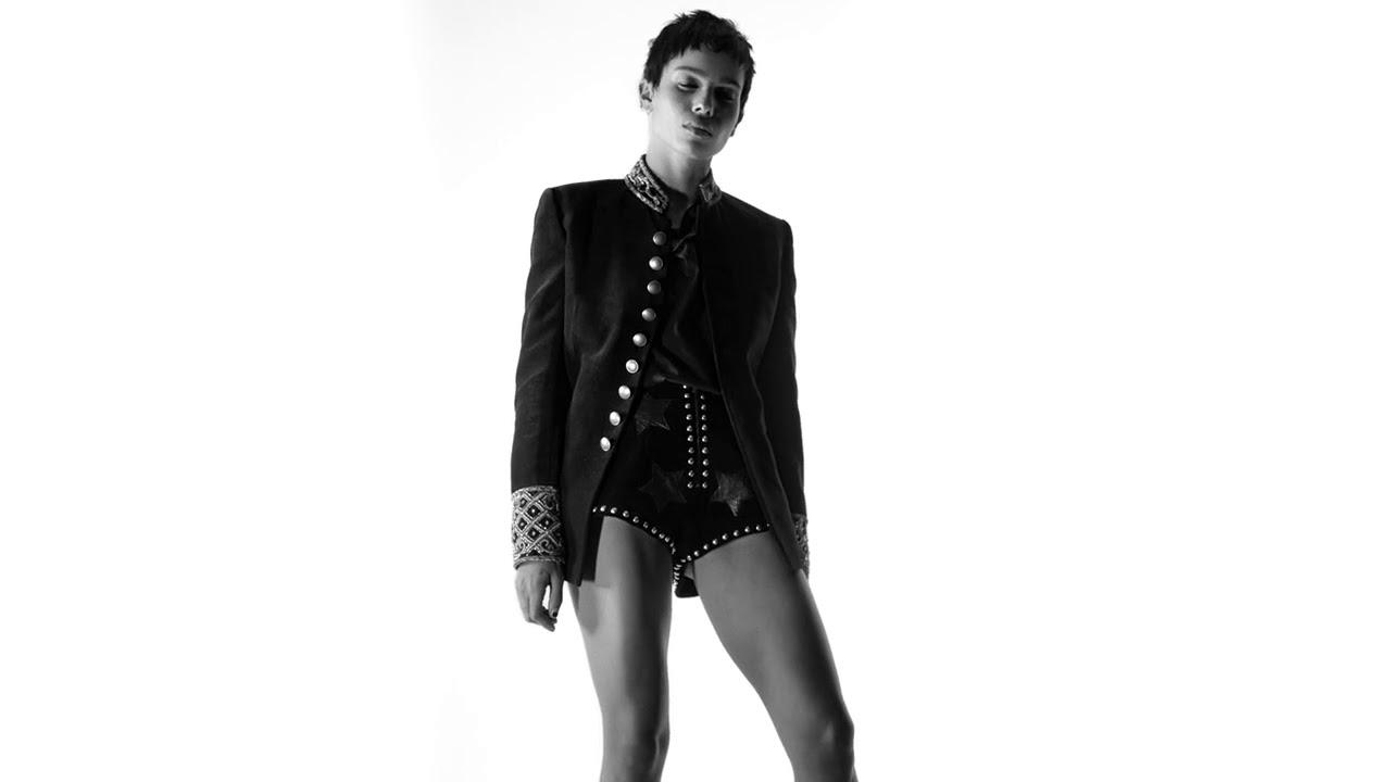 Zoe Kravitz for Saint Laurent Fall 2018 Campaign