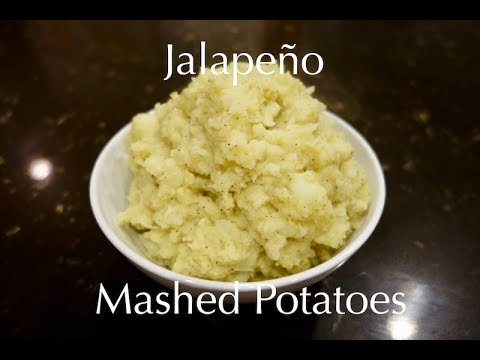 Jalapeño Mashed Potatoes
