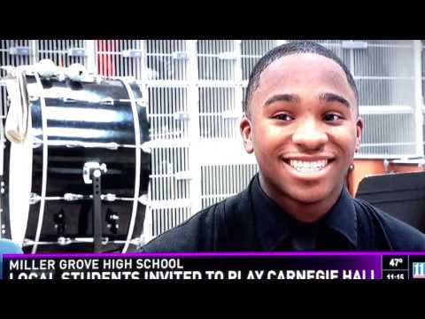 MGHS Wind Symphony Carnegie interview