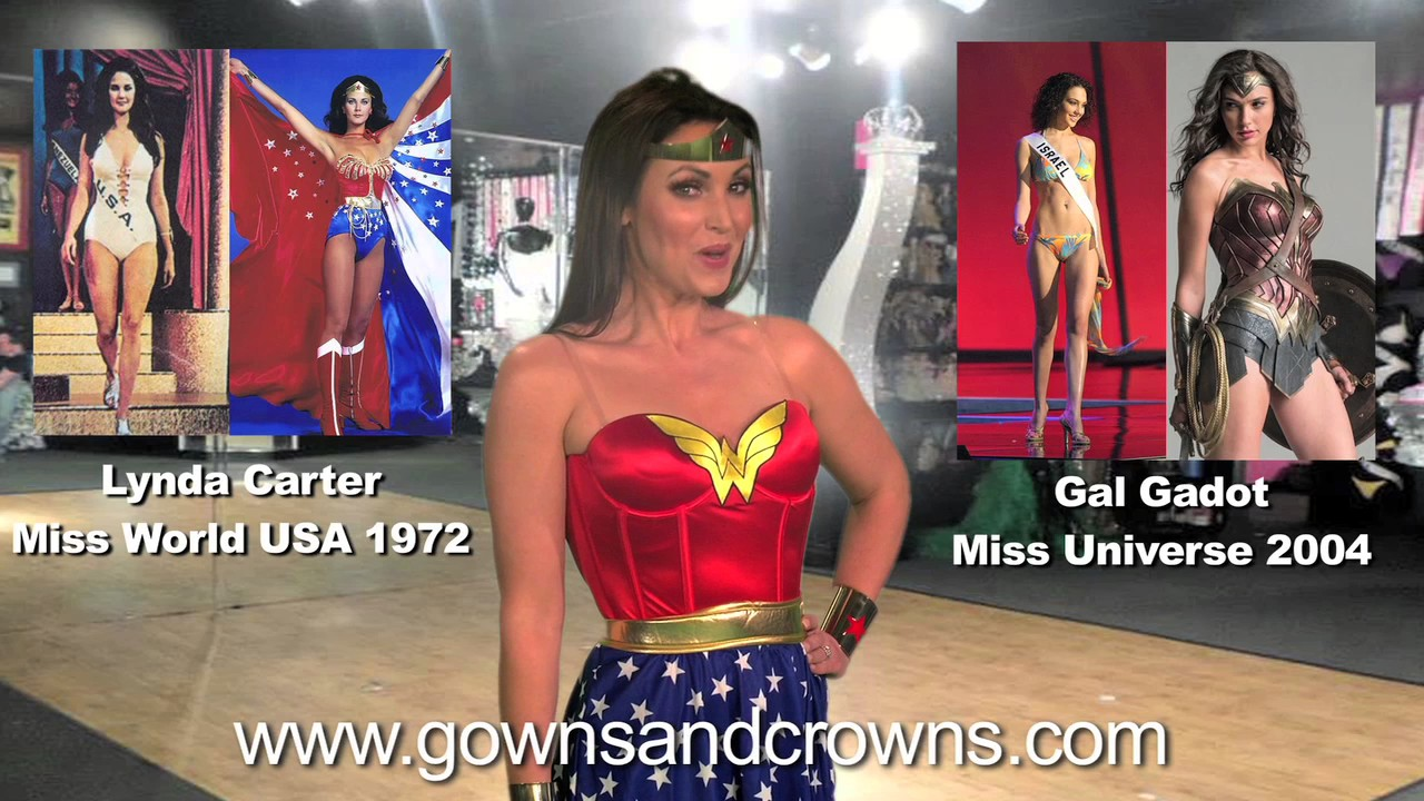 Gowns and Crowns Wonder Woman Promo - YouTube
