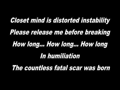 The Gazette- Filth In The Beauty Lyrics