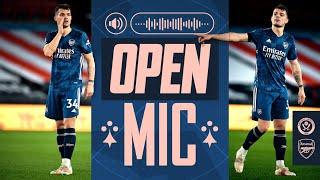 OPEN MIC | Granit Xhaka | Sheffield Utd vs Arsenal (0-3) | Compilation