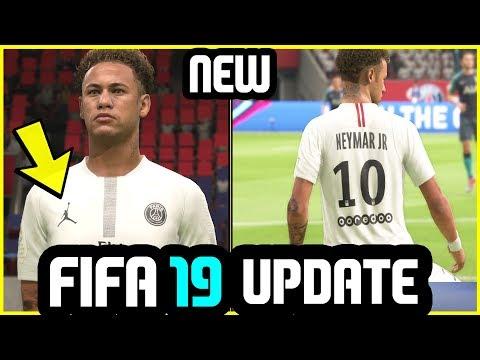 discount 1b361 dd727 FIFA 19 Update - New Kit Added (PSG x Jordan - White) - YouTube