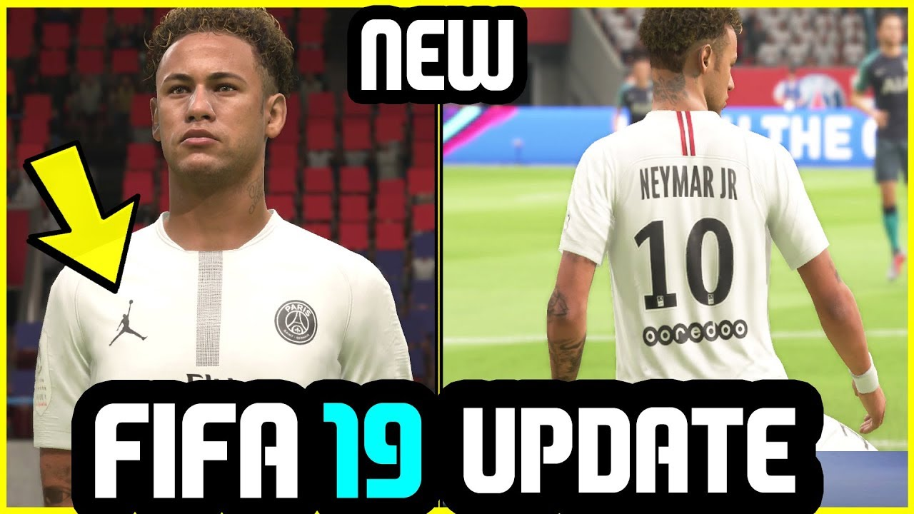 d6c757b5b91 FIFA 19 Update - New Kit Added (PSG x Jordan - White) - YouTube