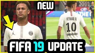 FIFA 19 Update - New Kit Added (PSG x Jordan - White)