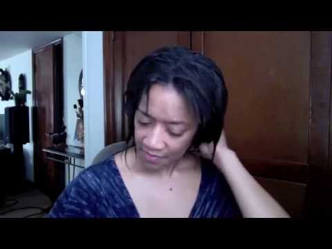 My Black Tea Rinse And Application On Relaxed Hair