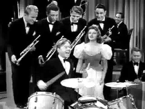 Mickey Rooney, the Drummer Boy