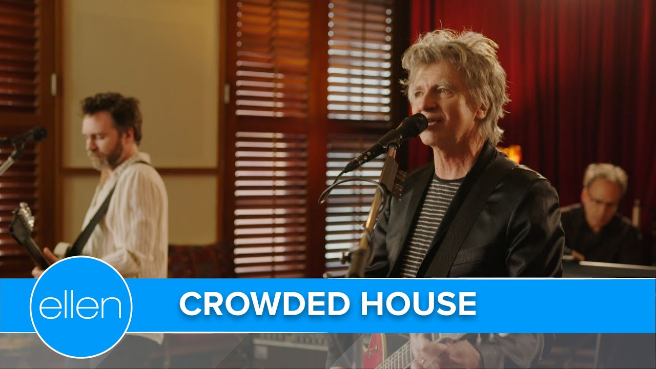 Download Crowded House Perform 'To The Island'