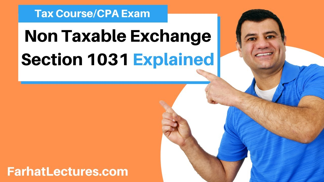 non taxable exchange section 1031 corporate income tax cpa reg