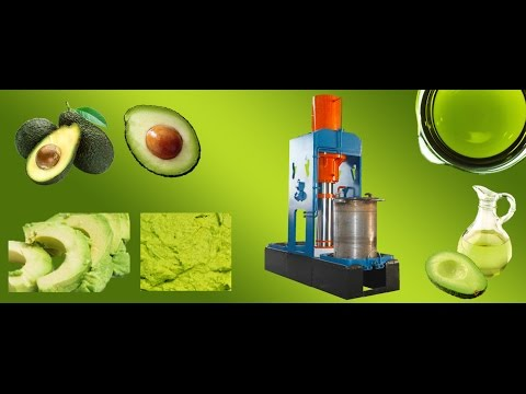 Hydraulic Avocado Oil Press in Tanzania