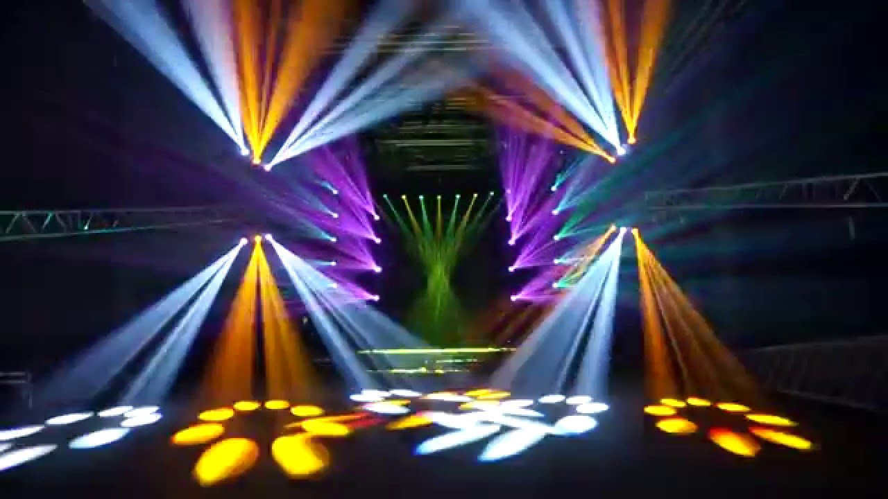 230w 7r Moving Head Beam Stage Lights Youtube