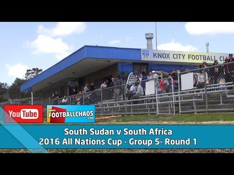 2016 ANC  South Sudan v South Africa
