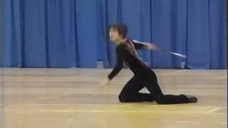 Shuichi Kawazu 2002 World Baton Twirling Championships