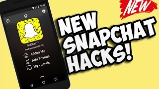 Snapchat Hacks,Secret Features,Tips And Tricks NEW For Android & iOS 2016!
