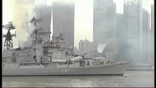 Visit create understanding and unmask our fear INDIAN FLEET LEAVES SHANGHAI CCTV News