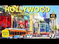 Hollywood Highland Walk of Fame | TCL Chinese Theatre | USA Travel | 4K Walking Tour