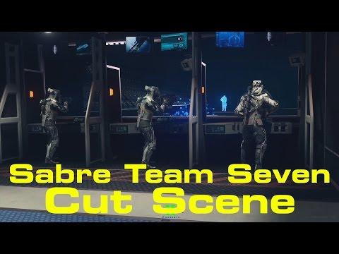 Call of Duty: Infinite Warfare Sabre Team Seven Cut Scene!