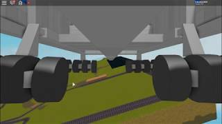 Large C-5 Galaxy takeoff and landing in Roblox Plane Crazy