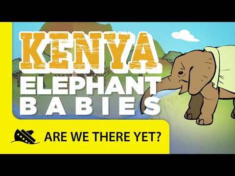 Kenya: Baby Elephants - Travel Kids in Africa