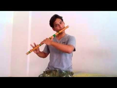 bansuri / flute lesson on jara tasveer se...