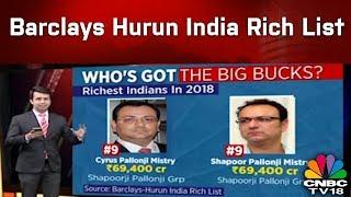 Barclays Hurun India Rich List | Who's Got The Big Bucks? | Reporter's Diary | CNBC TV18