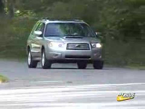 review 2006 subaru forester 2 5 xt youtube. Black Bedroom Furniture Sets. Home Design Ideas