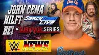 John Cena verstärkt das SmackDown! Team, Warum AJ Styles Champion wurde | WWE NEWS 80/2017