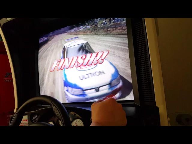 Sega Rally 2 Championship run: 3'59