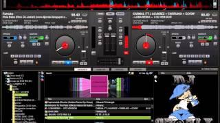 Mezcla De Reggaeton En Vivo - VirtualDJ 7.3 - VideoHD 2013 - Djcharly Fullmusic