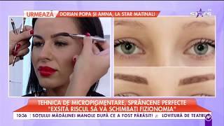 """Tehnica de micropigmentare pentru sprâncene perfecte: """"Oferă un aspect natural"""""""