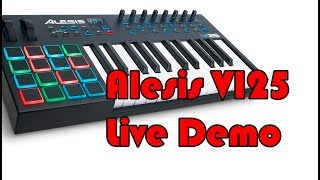 Alesis VI25 Live Demo