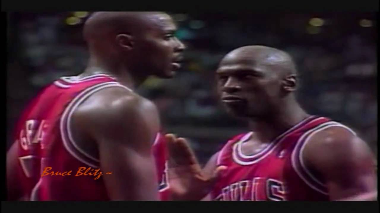 Michael Jordan Chicago Bulls 1991 NBA Championship run, the road to the trophy - YouTube