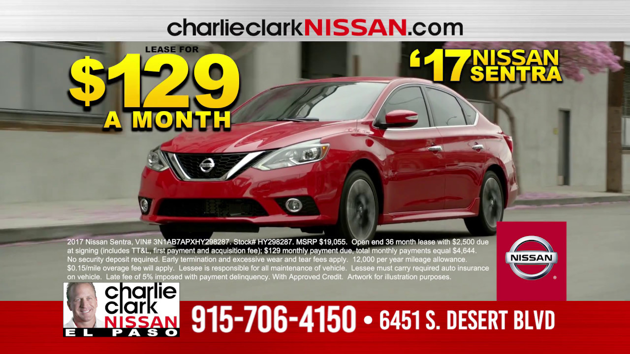 Captivating Charlie Clark Nissan 2.0 Commercial