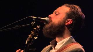 Iron & Wine - The Trapeze Swinger (acoustic) - Hackney Empire - 09.10.11