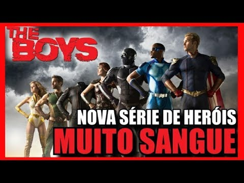 THE BOYS DUBLADO 2 TEMPORADA NA NETFLIX ? Assistir Série Legendado Personagens Amazon PT BR Online