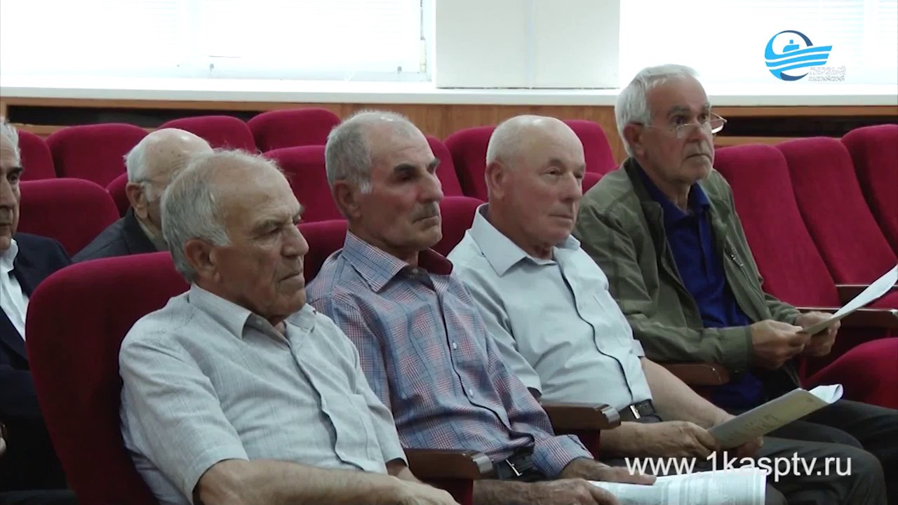 Будущее города обсудили  на Совете Старейшин Каспийска