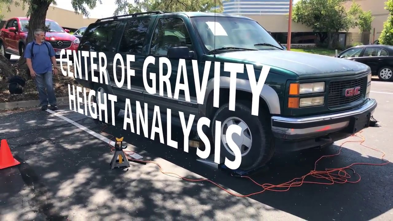 Determining A Vehicle S Center Of Gravity Height Youtube