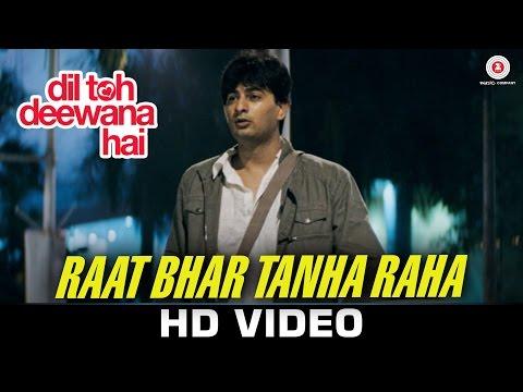 Raat Bhar Tanha Raha - Dil Toh Deewana Hai | Pankaj Udhas | Anand Raj Anand | Haider Khan